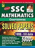 SSC Mathematics: Chapter-Wise Solved Papers (1999-2015) - 5800 + Objective Questions (Old Edition)