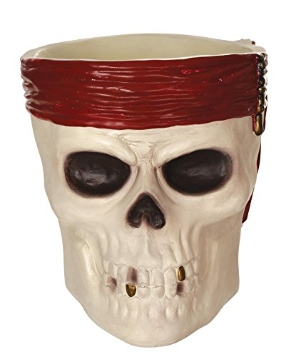 Disney Pirates of The Caribbean Skull Candy Bowl