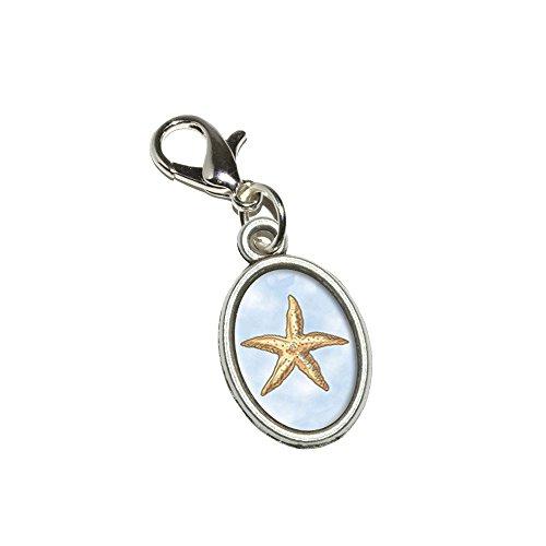 Oval Star Pendant - 2