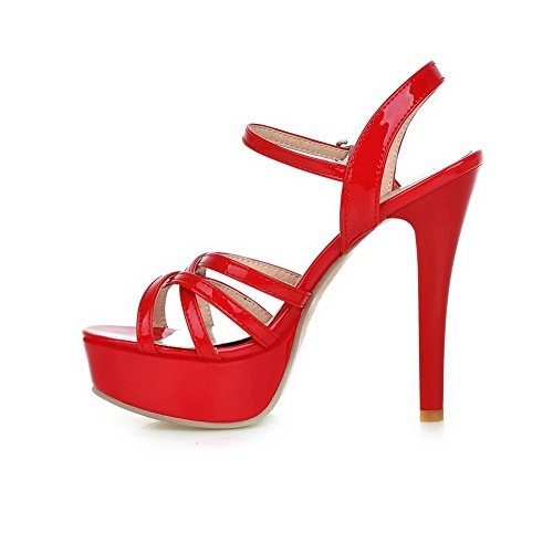 ASL05317 Bout BalaMasa Red Ouvert 5 EU Rouge Femme 36 1Fqxw