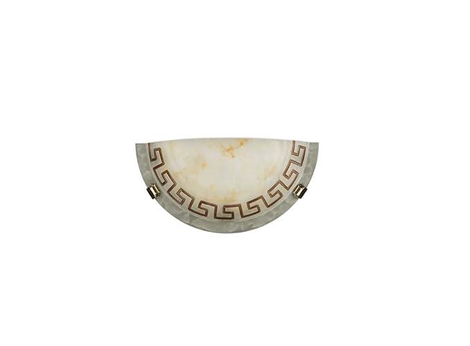 Massive 805950143 macy applique in vetro decoro greca: amazon.it