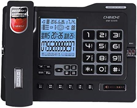 GAOLE 有線固定電話アンチ電磁干渉コード付き電話の多機能大画面で電話番号を修正します