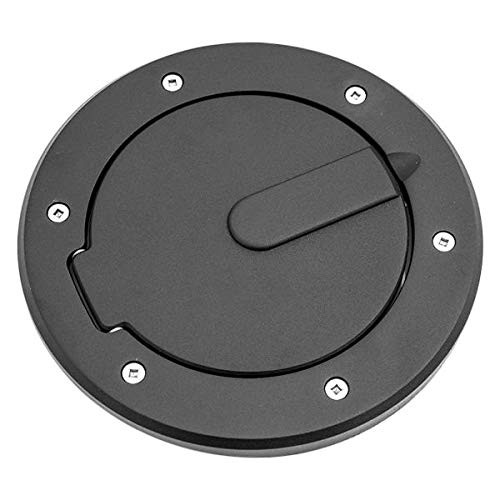 All Sales 6034K AMI Race Style Ball-Milled Fuel Flat Black Ring and Door
