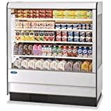 Federal Industries RSSD-678SC Specialty Display High Profile Self-Serve Refrigerated Dairy Merchandiser