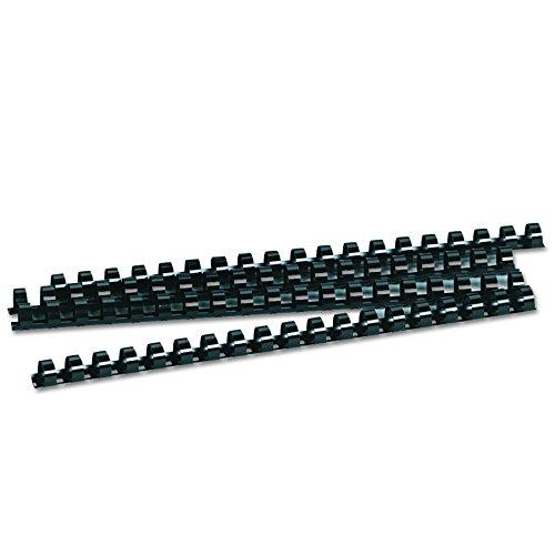 Review Fellowes 52326 Plastic Comb Bindings, 1/2″ Diameter, 90 Sheet Capacity, Black (Pack of 100 Combs)