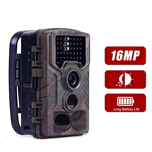 ANRAN 2019 Trail Camera 16MP Hunting Camera, 1080P New Wildlife Game Camera Waterproof Hunting Scouting Camera for Animal Monitoring with 2.4