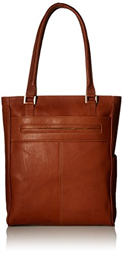 Piel Leather Vertical Laptop Tote product image