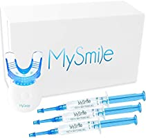MySmile Home Teeth Whitening Kit, 10 Minute Express Fast Results for Teeth Whitening at Home, Non Sensitive Teeth...