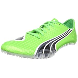 PUMA Complete SLX Endspurt Track Spike,Fluorescent Green/Black/White,US Women's 15.5 B/US Men's 14 D