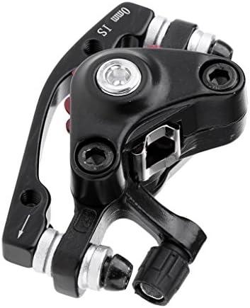 SM SunniMix MTB 折り畳み自転車 フロント ディスクブレーキ キャリパー アルミ合金 優れた放熱効果 強い制動力