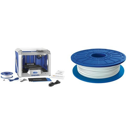 Dremel 3D40-01 Idea Builder 2.0 3D Printer, Wi-Fi Enabled with Guided Leveling...