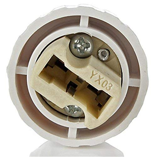 E27 Socket Converter Socket Adapter Lamp Base Adapter Ceramic Socket Holder Converter for Lamp Lights Bulb
