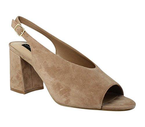 STEVEN by Steve Madden Women's Futures Dress Sandal, Blush Suede, 9.5 M US