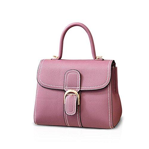 NICOLE&DORIS New Bolsos de Mujer Bolso Hombro Bandolera Bolso Señoras Bolsa de Mensajero Bags Crossbody Bag PU Verde Púrpura