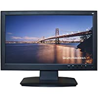 SVD 21.5-Inch Professional Security Monitor With BNC HDMI VGA S-Video Audio Inputs and BNC Audio Outputs and Build-in Speakers, SVD Advanced Security