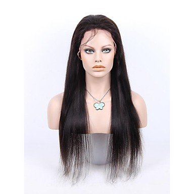 Drag Queen Costumes Ebay (Beauty Fashion Wigs liap 26InchBrazilian Queen Hair Front Lace Wig Straight with Baby Hair in Front Off Black)