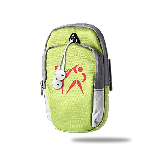Taekwondo Outdoor Jogging Armbags Bag Running Bags KellyGreen For Unisex,One Size
