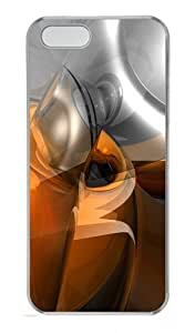 Abstract 3D Art Polycarbonate Plastic Hard Case for iPhone 5S and iPhone 5 Transparent by lolosakes