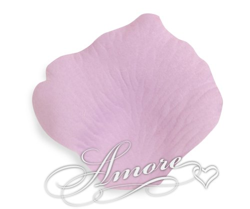 2000 Wedding Silk Rose Petals Lavender-Lilac 2 inch Wide - Vera Lavender Collection