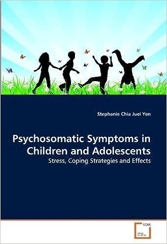 Liens de téléchargement gratuits de livres audio Psychosomatic Symptoms in Children and Adolescents: Stress, Coping Strategies and Effects by Stephanie Chia Juei Yen (2011-08-23) en français
