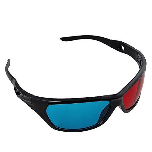 Insten® Red-blue / Cyan Anaglyph Simple style 3D Glasses 3D