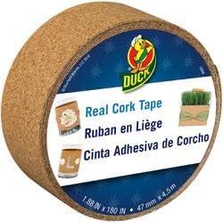 Duck Tape Cork 1.88 inch x 15 Feet 283692 2-Pack