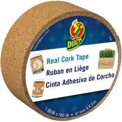 Bulk Buy: Duck Tape (2-Pack) Cork 1.88in. x 15 Feet 283692 2 Pack Duck