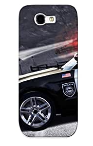 For Galaxy Note 2 Protective Case, High Quality For Galaxy Note 2 Need For Speed - Hot Pursuit Police Car Skin Case Cover