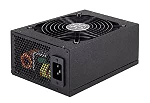 Silverstone Tek 1500W 80 Plus Gold Certified Fully Modular Active PFC Power Supply with Support for 8X PCI-E 8/6pin Connectors ST1500-GS