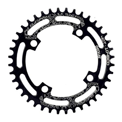 Bicycle Chainring 40T 42T 44T 46T 48T 50T 52T Bike Chainwheel Front Chainring Single Disc CNC Hollow MTB Bike Chain Wheel