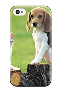 Cleora S. Shelton's Shop Hot 7010824K28617097 Hot Tpu Cover Case For Iphone/ 4/4s Case Cover Skin - Beagle Dog