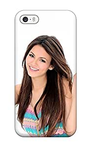 Hot 6880359K38371041 Tpu Case For Iphone 5/5s With Victoria Justice