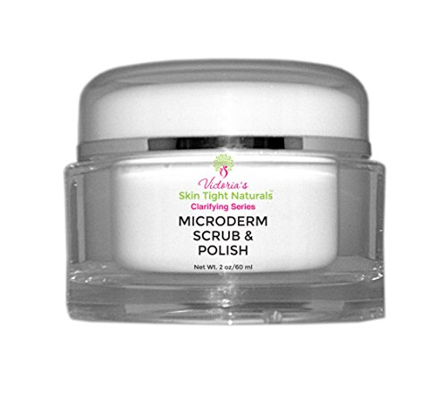 Microdermabrasion Skin Polish Exfoliation Anti-Aging, Fine Lines & Wrinkles, Acne, Pimples, Breakouts, Blackheads-Evens Skin Tone by Victoria's Body Shoppe
