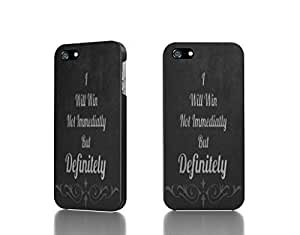 aqiloe diy Apple iPhone 4 / 4S Case - The Best 3D Full Wrap iPhone Case - text typography saying winning motivational