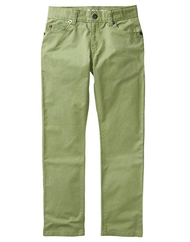 Crazy 8 Little Boys' Rocker Twill Pant, Olive Green, (Rocker Woven Green)