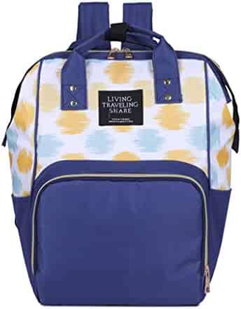 eac7ec17cb65 Shopping Canvas - Ivory or Blues - Backpacks - Luggage & Travel Gear ...