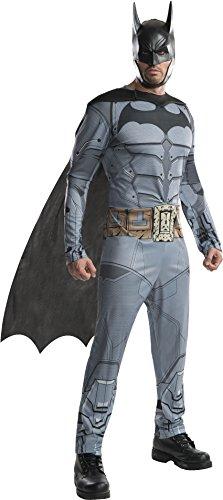(Rubie's Men's DC Batman Arkham City Costume, Large, CHEST 42 - 44