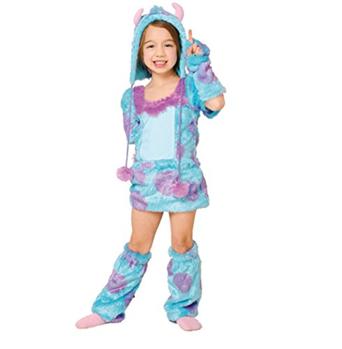 Disney Monsters Inc Costume - Sulley Costume - Girl's S Size Costume ()