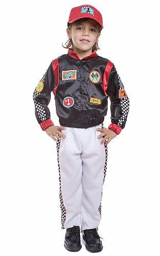 Amazon Com Kids Race Car Driver Costume By Dress Up America
