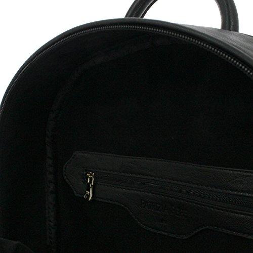 Zaino PATRIZIA PEPE pelle nero borchie larg. 30 alt. 36 p11