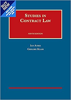 Studies in contract law casebookplus university casebook series studies in contract law casebookplus university casebook series fandeluxe Image collections
