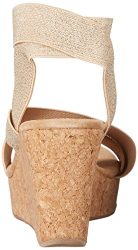 Gavin Women's Wedge Splendid Gold Sandal qAX1ffwU5x