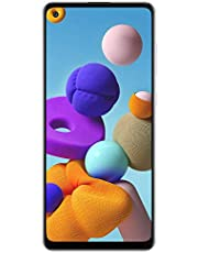 Samsung Galaxy A21s A217M 64GB Dual SIM GSM Unlocked Android Smartphone (International Variant/US Compatible LTE) - White