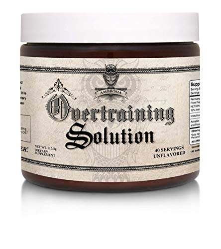 - Ambrosia Overtraining Solution | 40 Servings