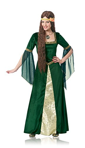 Costume Culture Women's Plus-Size Renaissance Lady Costume Extra Large, Green, X-Large for $<!--$44.56-->