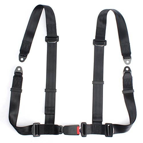 Winnerbe Sport Racing Car Harness Safety Seat Belt 3 4 Point