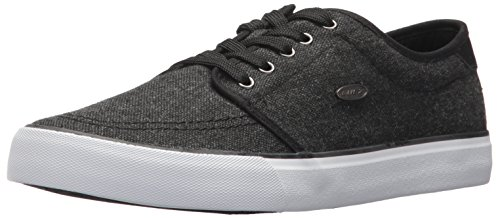 Lugz Mens Rivington Sneaker Black/White