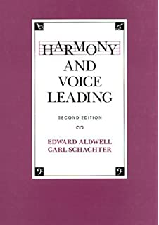 Harmony And Voice Leading Vols 1 2 By Aldwell Edward Schachter