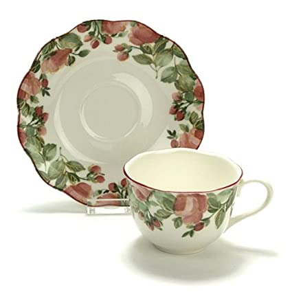 Amazon.com | Precious by Nikko, China Cup & Saucer: Cup & Saucer Sets