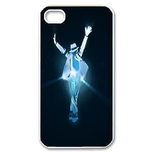 [bestdisigncase] For Iphone 4 4S-michael jackson PHONE CASE 10